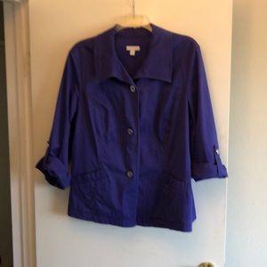 Purple Charter Club Jacket